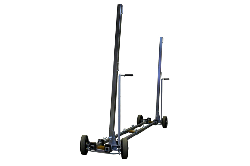 plate glass carriage 496-120-2 makes it possible to move heavy elements around on the construction site