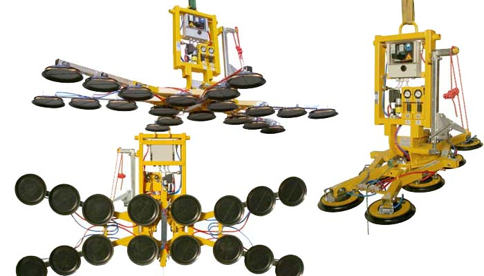The flexible Kombi 7211-DS3-2012 vacuum lifter – you will wonder what you ever did without it!