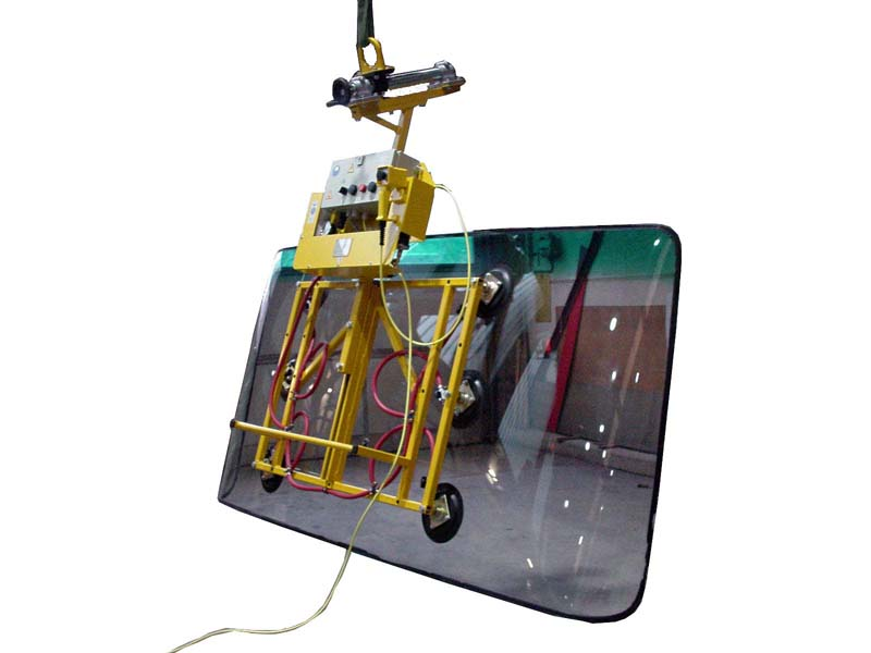 Vacuum lifter Kombi 7001-BUS2, the helper for installing bus windscreens